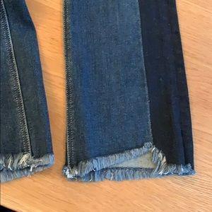 McGuire Cropped Valletta Jean, woven stripe